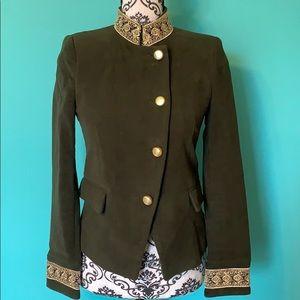 Zara Basic Collection Fashion Olive Blazer NWT S